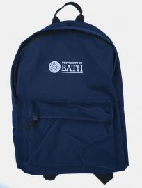 University of Bath  Backpack- French Navy